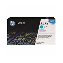 HP Toner 646A cyan (CF031A)