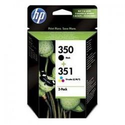 HP Druckkopf mit Tinte Nr 350+351 schwarz/farbig (SD412EE)