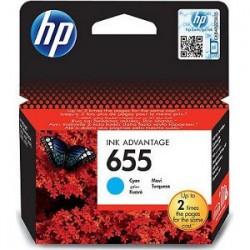 HP Tinte Nr 655 cyan (CZ110AE)