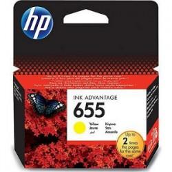 HP Tinte Nr 655 gelb (CZ112AE)