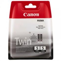 Canon PGI-5BK Tinte schwarz, 2er-Pack (0628B025)