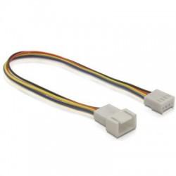 DeLock DL82429 Ventilator Kabel 4pin male-female 20cm