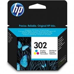 HP Druckkopf mit Tinte Nr 302 farbig (F6U65AE)
