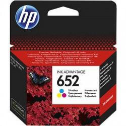 HP Druckkopf mit Tinte Nr 652 farbig (F6V24AE)