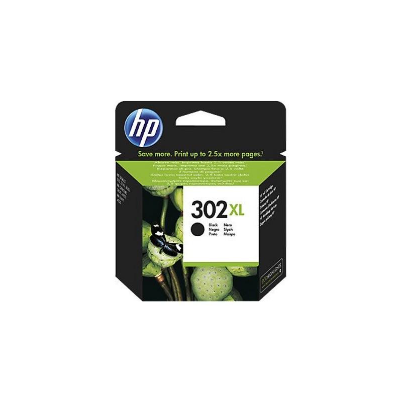 HP Druckkopf mit Tinte Nr 302 XL schwarz (F6U68AE)