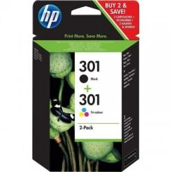 HP Druckkopf mit Tinte Nr 301 schwarz/farbig Kombipack (N9J72AE)
