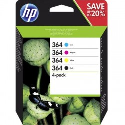 HP Tinte Nr 364 XL Combo Value Pack (N9J74AE)