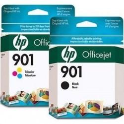 HP Druckkopf mit Tinte Nr 901 schwarz/farbig Kombipack (SD519AE)