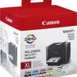 Canon PGI-2500XL C/M/Y/BK Tinte Multipack (9254B004)