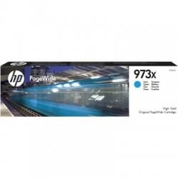 HP 973X Tinte cyan (F6T81AE)