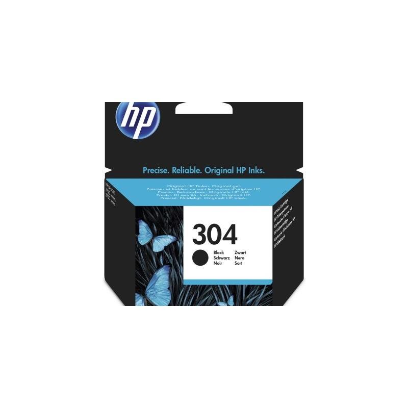 HP 304 Druckkopf mit Tinte schwarz (N9K06AE)