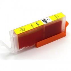 Kompatible Tinte zu Canon CLI-581Y XXL gelb