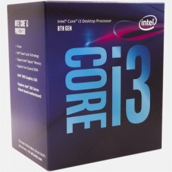 Intel Core i3-8100, 4x 3.60GHz, boxed (BX80684I38100)