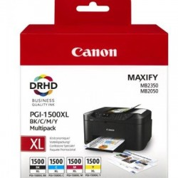 Canon PGI-1500XL C/M/Y/BK Tinte Multipack (9182B004)
