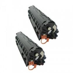 Kompatibler Toner zu HP 83AD schwarz CF283AD Doppelpack EU REF SPEC