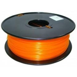 3D Filament 1,75 mm PLA TRANS orange 1000g 1kg