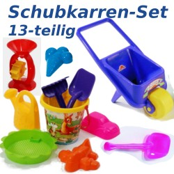 Schubkarren-Set 13-teilig