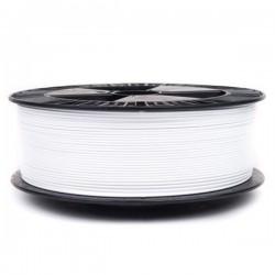 3D filament 1,75 mm TPU+TPE rubber gummi weiß 1000g 1kg