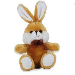 Plüschtier Hase super weich 16cm braun