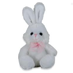 Plüschtier Hase super weich 16cm weiß