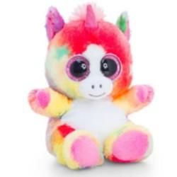 Plüsch Animotsu – Rainbow – Einhorn-Plüschtier 15cm pink