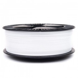 3D Filament 1,75 mm SOFT-PLA 1000g 1kg weiß