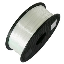 3D Filament 1,75 mm Polymer Silk weiß 1000g 1kg