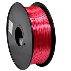 3D Filament 1,75 mm Polymer Silk rot 1000g 1kg