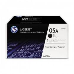 HP Toner 05A schwarz, 2er-Pack (CE505D)