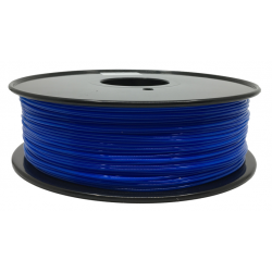 3D Filament 1,75 mm PLA TRANS blau 1000g 1kg