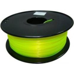 3D Filament 1,75 mm PLA FLUORES gelb 1000g 1kg