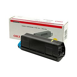 OKI C3100 gelb original Toner