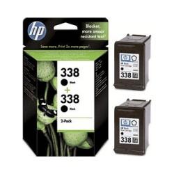 HP Druckkopf mit Tinte Nr 338 schwarz, 2er Pack (CB331EE)