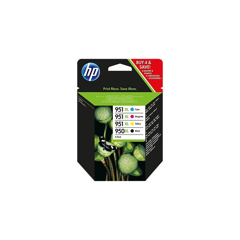 HP Tinten Nr 950XL/951XL Rainbow-Kit (C2P43AE)
