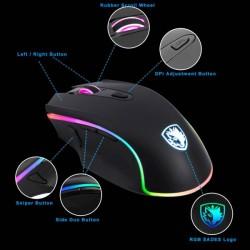 Sades Scythe Gamer Mouse