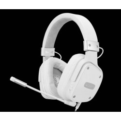 Sades Snowwolf Gamer Headset weiß