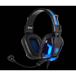Sades Element Gamer Headset blau
