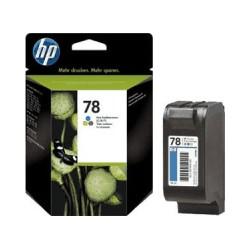 HP Druckkopf mit Tinte Nr 78 farbig (C6578DE)