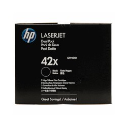 Q5942XD HP Toner 42X schwarz Twinpack