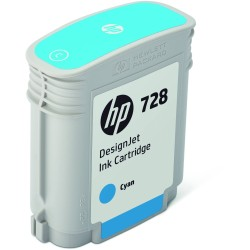 HP Tinte 728 cyan (F9J63A)